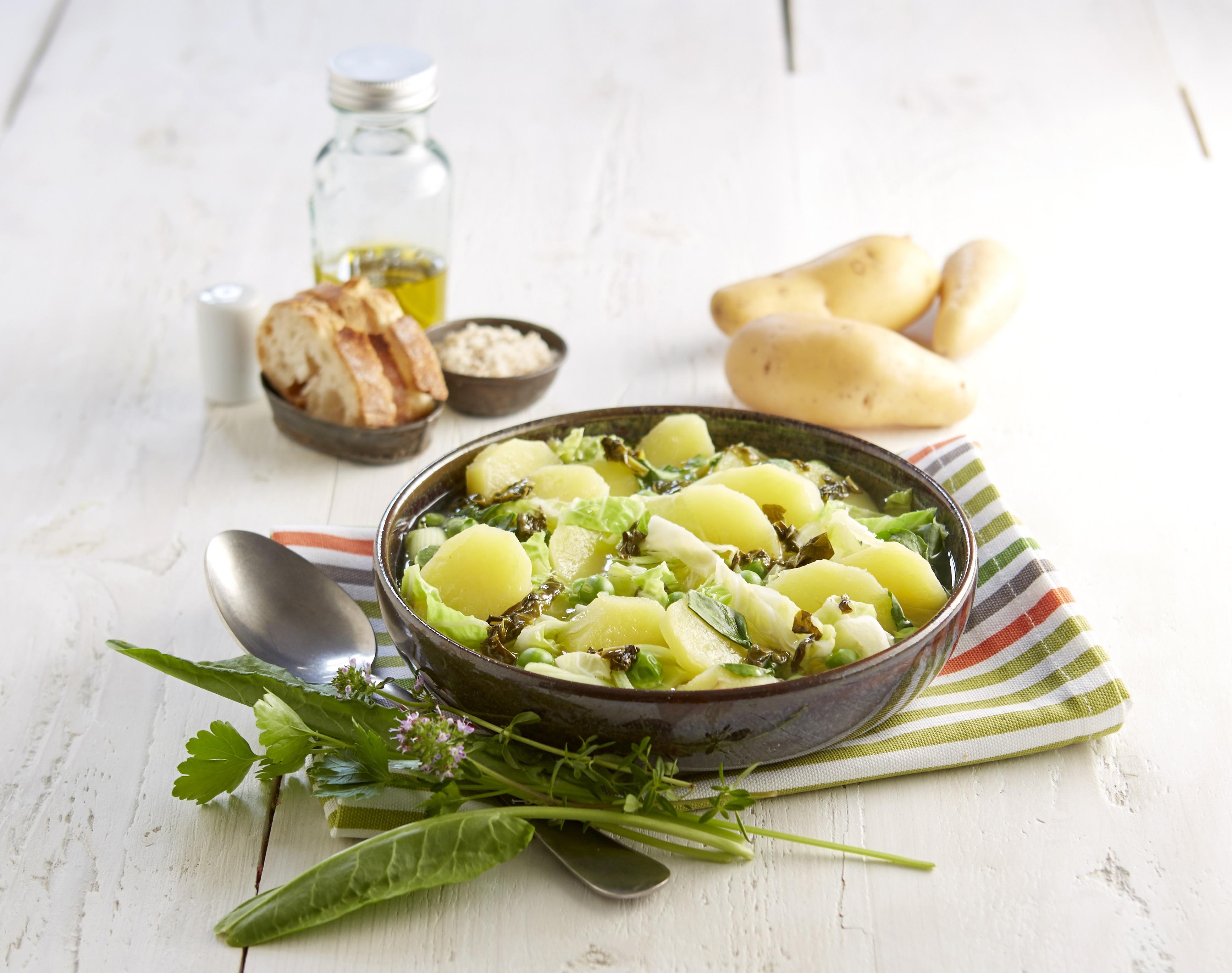 Soupe de légumes des Hortillons aux Pompadour