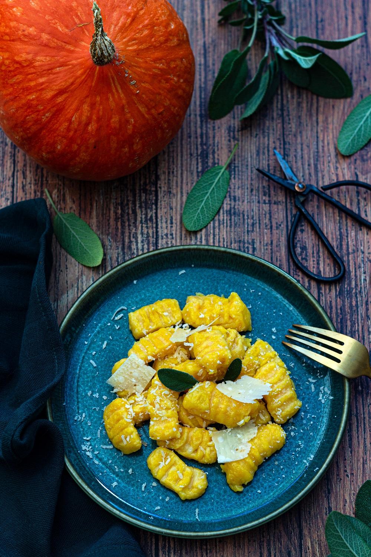Gnocchi pommes de terre et potimarron
