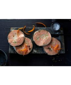 Label Rouge pour le saumon farci, farce aux petits légumes