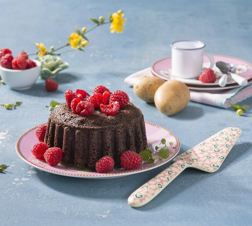 Gâteau de pommes de terre Pompadour au chocolat à l'irlandaise