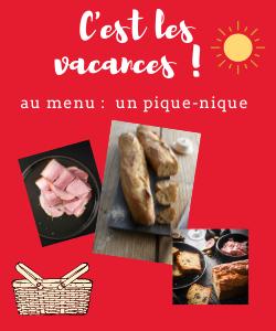 Un pique-nique 100 % local avec des produits des Hauts-de-France.